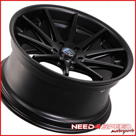 "19"" Lexus SC300 sc400 Rohana RC10 Black Concave Staggered Wheels Rims"