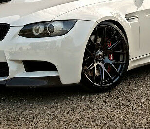 Miro 111 Wheels Set For BMW E46 M3 Years 2000   2007 Rims Matte Black