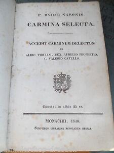 19189-Ovidii-Nasonis-Carmina-Selecta-Accedit-carminum-delectus-Muenchen-1840
