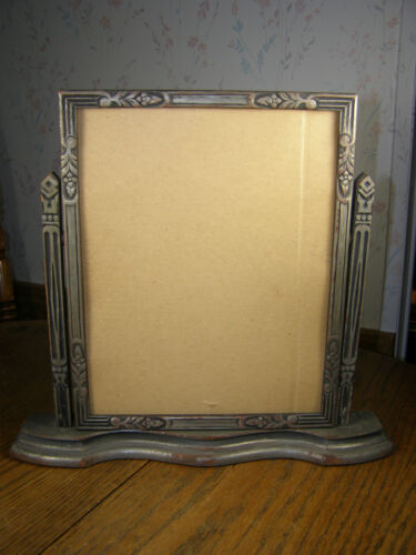 1920-30s Vintage Silver Wood Swinging Picture Frame - Art Deco in Antiques, Decorative Arts, Picture Frames | eBay