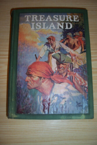 1924 Treasure Island By Robert Louis Stevenson Illustrated Frank Godwin in Books, Antiquarian & Collectible | eBay