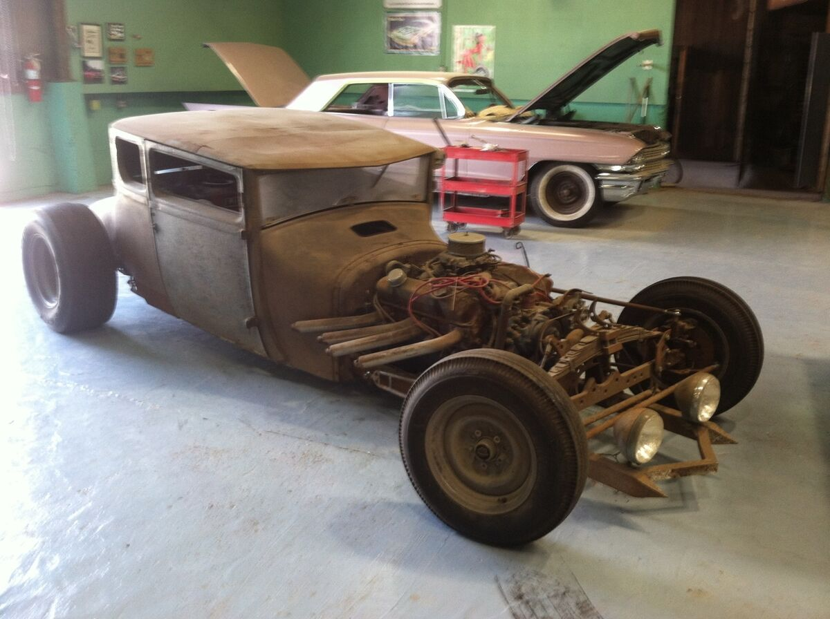 1927 Ford Model T Rat Rod Fresh Hard Parts Work of Art