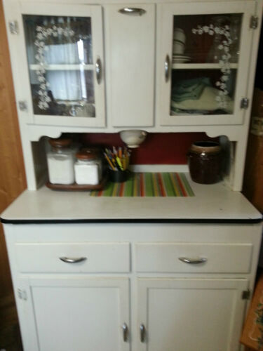 1940's Hoosier Cabinet in Antiques, Furniture, Cabinets & Cupboards | eBay