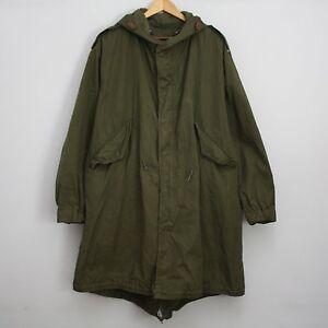 1953 Korean War M-1951 Fishtail Parka Jacket SZ M Coat ...