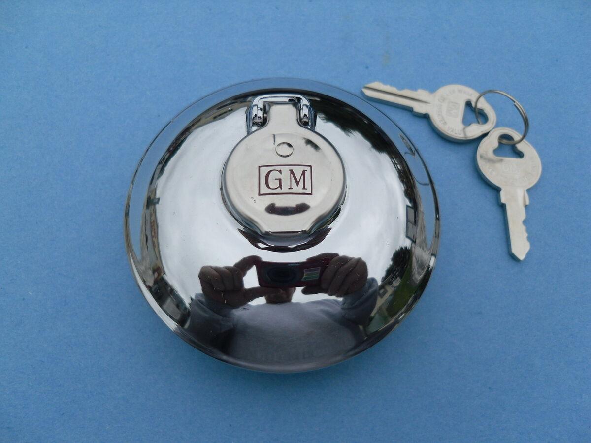 1955 55 1956 56 1957 57 1958 58 Chevrolet GMC Truck GM Accessory Locking Gas Cap