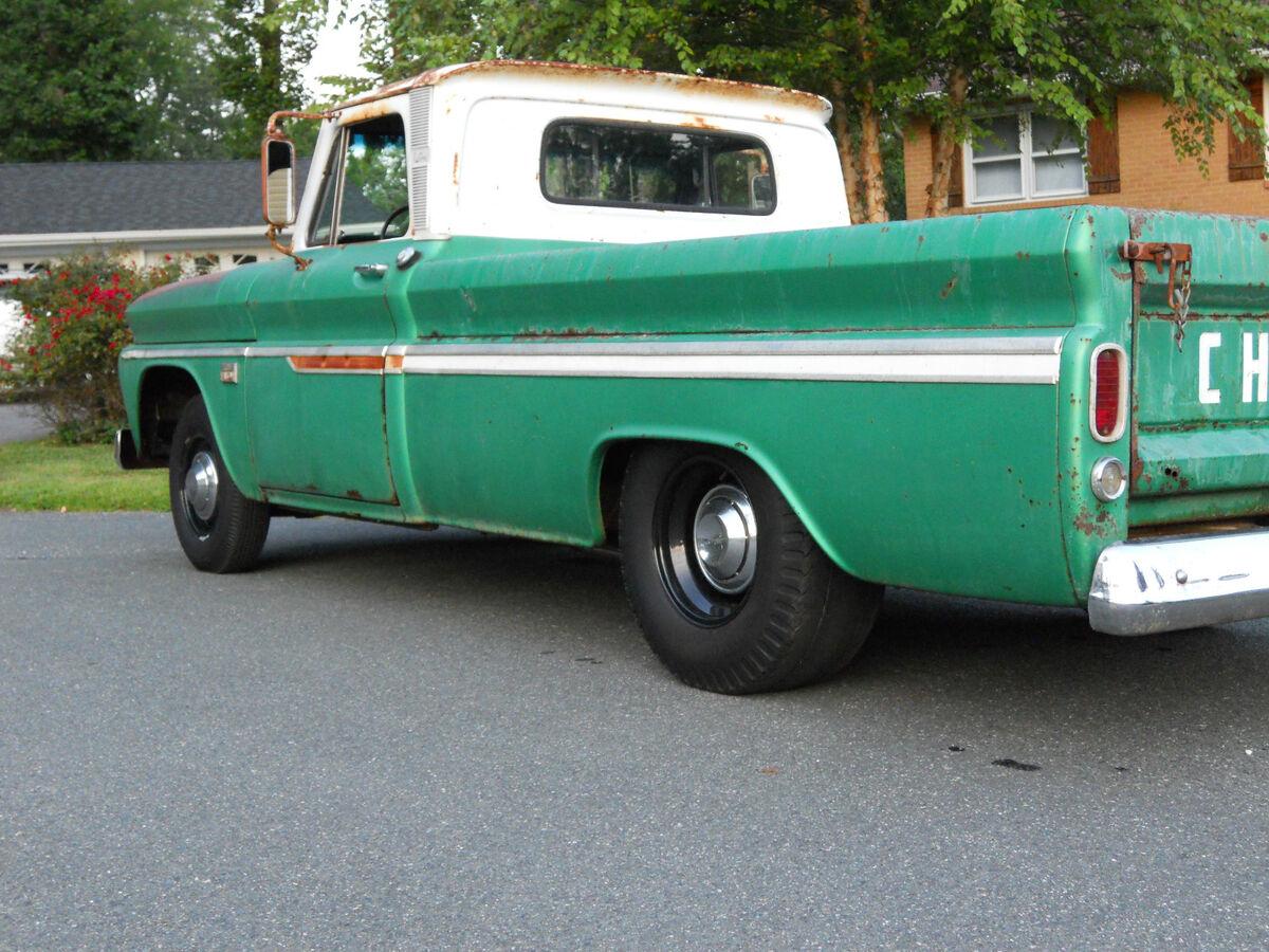 1966 Chevy C10 V8 Long Bed Custom Solid Nostalgic Shop Truck Pickup
