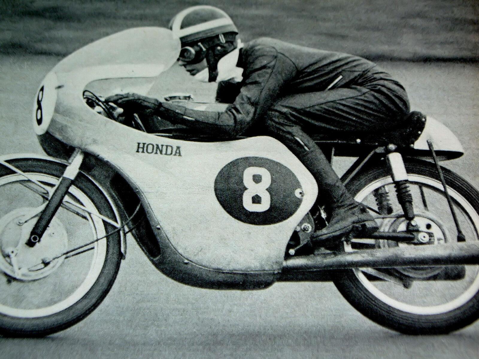 1966 honda grand prix road racing/125cc engine/motorcycle/1967