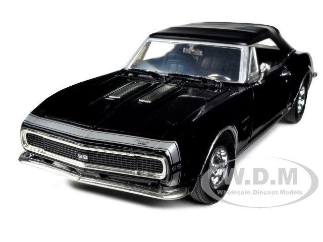 Cabrio black 1:24  Motormax 1967 Chevrolet Camaro SS Convertible