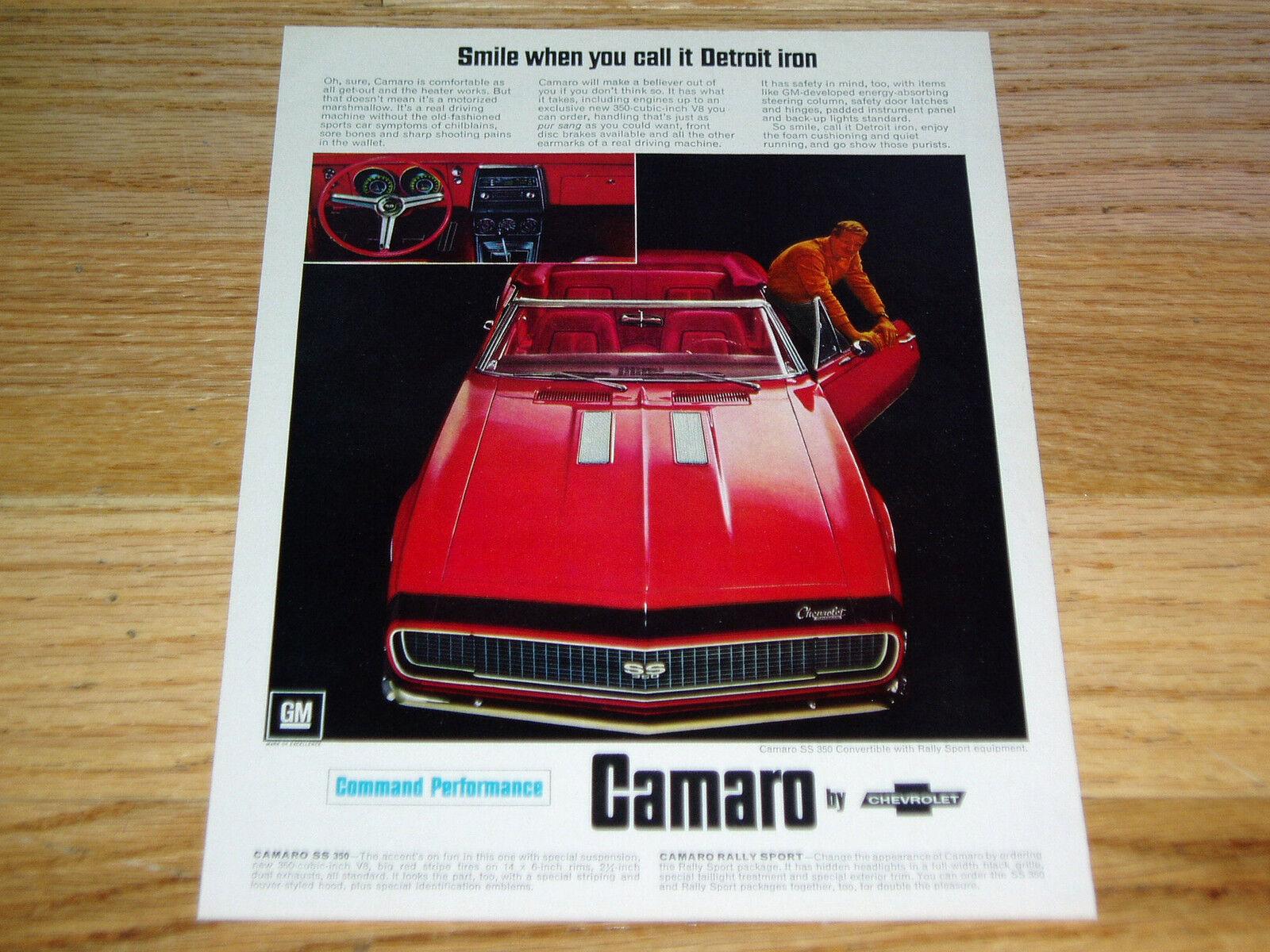 1968 Rs Z28 For Sale Autos Weblog