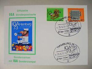1973 - Ganzsache - Offizielle Sonderpostkarte IGA 1973 - Hamburg - München, Deutschland - 1973 - Ganzsache - Offizielle Sonderpostkarte IGA 1973 - Hamburg - München, Deutschland
