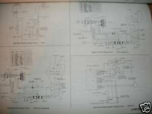 1975 1976 ford pinto mercury bobcat wiring diagrams set ebay