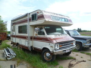 1975 Dodge Motorhome http://www.ebay.com/itm/1975-DODGE-BROUGHAM-SPORTSMAN-RV-PARTING-OUT-/120927125919