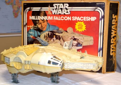 1978 Star Wars Vintage Kenner Millennium Falcon w/ SW box in Toys & Hobbies, Action Figures, TV, Movie & Video Games | eBay