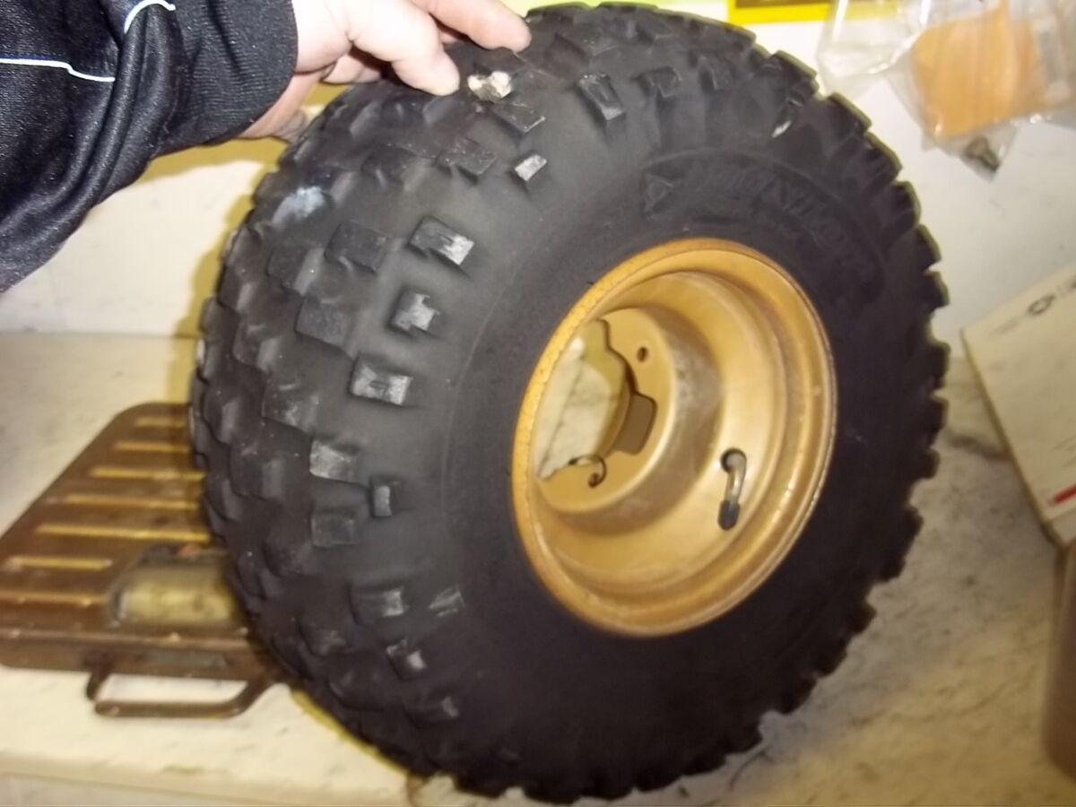 1987 Yamaha BW80 Rear Wheel Dunlop Tire 19x9 00x7