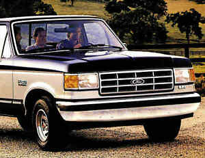 1988 ford f series pickup truck brochure f150 f250 f350 ebay. Black Bedroom Furniture Sets. Home Design Ideas