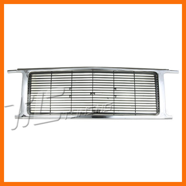 1989 1991 GMC Suburban Quad Lamp Model Grille Grill New Front Body Parts