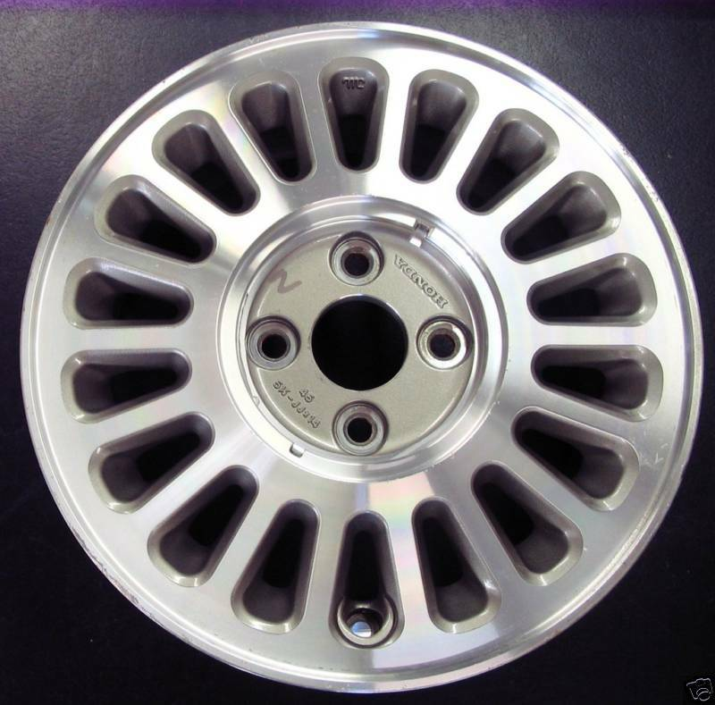 Accord SEI Turbine Aluminum Alloy Wheel Rim 89 Factory A 63700