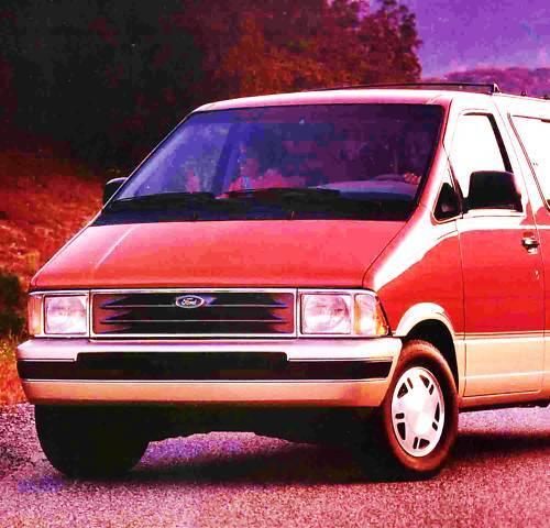 1992 Ford Aerostar Wagon Brochure XL XLT Eddie Bauer