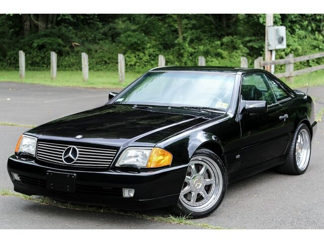1993 mercedes benz 600sl 600 sl soft hard top roadster. Black Bedroom Furniture Sets. Home Design Ideas