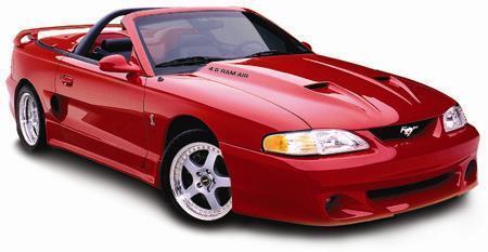 1994 1995 1996 1997 1998 Ford Mustang RAM Air Hood