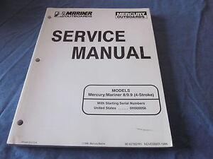 mercury 60 hp 4 stroke service manual