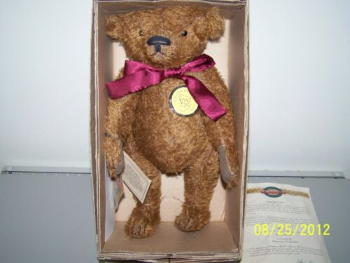 1999 HOMESPUN COLLECTION ST.MARTIN'S CHESTER BEAR WITH COA CHARACTER COLLECTIBLE in Dolls & Bears, Bears, Other | eBay