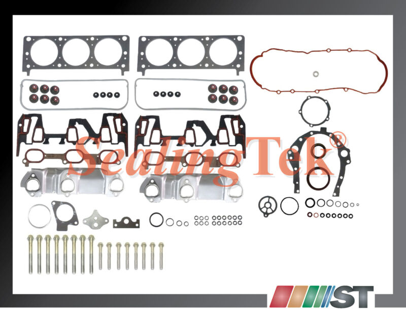Fit 1999 Gm 3400 3 4l 207 V6 Vin E Engine Full Gasket Set