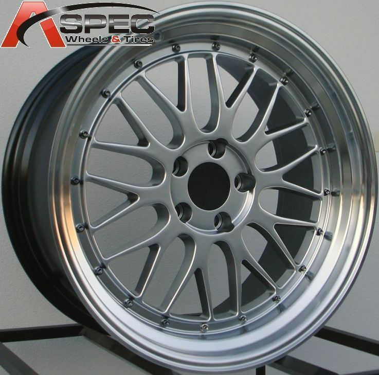 Staggered LM Style Wheels 5x120 Rims Fits BMW M3 2001 2005