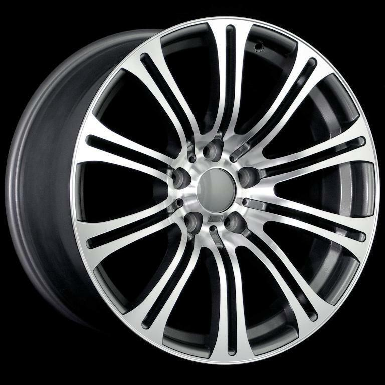 STAGGERED M3 STYLE WHEELS 5X120 RIM FITS BMW E46 E90 E92 E93 M3