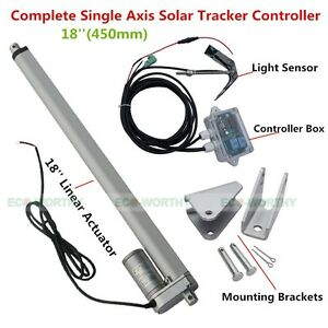 1KW-Solar-Tracking-System-Single-Axis-Solar-Tracker-18-12V-Linear-Actuator