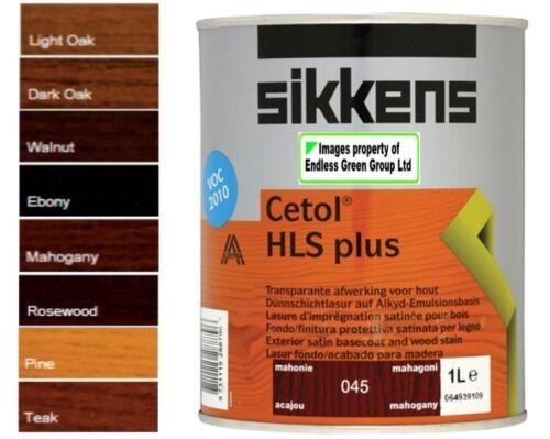 1l sikkens cetol filter 7 plus durable finish for wood door colour choice 1l ebay. Black Bedroom Furniture Sets. Home Design Ideas