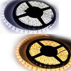 1M-10M-3528-SMD-LED-Strip-Streifen-leiste-Band-weiss-warmweiss-Trafo-Netzteil
