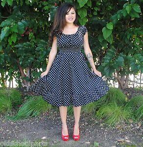 Polka  Dress on Black Dress Size On 1x 2x 3x Womens Plus Size Dress Black Polka Dot