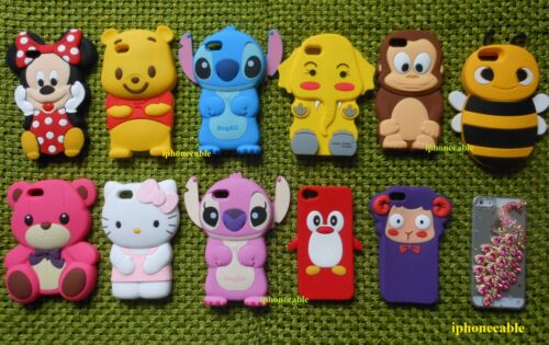 1X 3D COLLECTION MICKEY MINNIE STITCH BEAR MONKEY KITTY NEW IPHONE 5 CASE COVER in Cell Phones & Accessories, Cell Phone Accessories, Cases, Covers & Skins | eBay