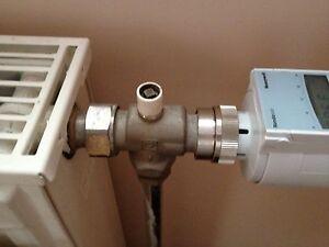 1x honeywell thermostat adapter herz radiator hr20 hr30 hr40 hr80 rondostat ebay. Black Bedroom Furniture Sets. Home Design Ideas