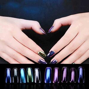 ... Pigment Puder Pulver Mirror Powder Nail Art Chrome Glitter Neu   eBay