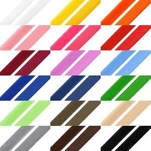 1m klettverschluss klettband hakenband flauschband 16 20mm breit zum aufn hen ebay. Black Bedroom Furniture Sets. Home Design Ideas