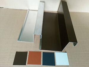 1m ortgang ortgangblech ortblech f r ziegeldach alu. Black Bedroom Furniture Sets. Home Design Ideas