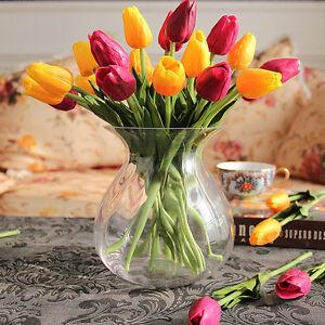 1pcs tulpe k nstliche blumen kunstblumen blumentopf for Blumentopf dekoration