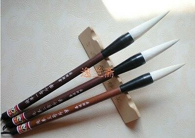 3pc set chinese category calligraphy brush pen writing pen Chinese calligraphy pens