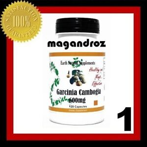 1x Garcinia Cambogia Pure 600mg HCA 120 Caps | eBay