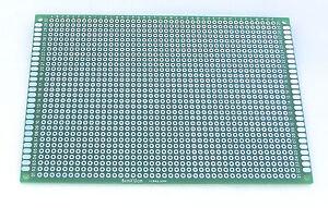 1x-Leiterplatte-FR-4-Doppel-Seite-Lochraster-Platine-glass-fiber-FR4
