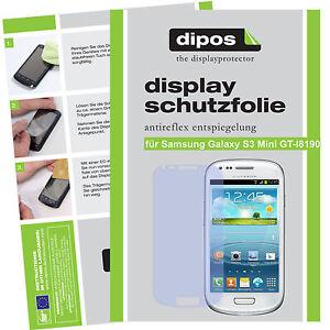 1x-Samsung-Galaxy-S3-mini-Schutzfolie-matt-Displayschutzfolie-Antireflex