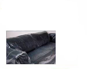 1x sofa settee clear plastic covers bags strong 100micron furniture