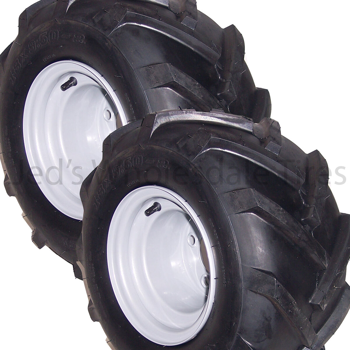 50 8 Riding Lawn Mower Garden Tractor Tire Rim Wheel Assembly