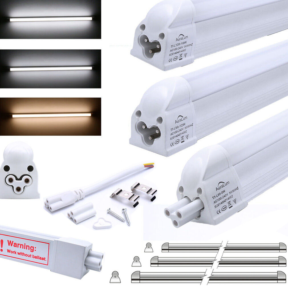 60cm 90cm 120cm t5 g5 led r hre tube r hr lampe leuchtstoffr hre mit fassung dhl ebay. Black Bedroom Furniture Sets. Home Design Ideas