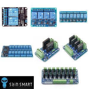 2-4-8-16-Kanal-Channel-Relais-Relay-Module-Modul-fuer-Arduino-Mega2560-UNO-R3-AVR