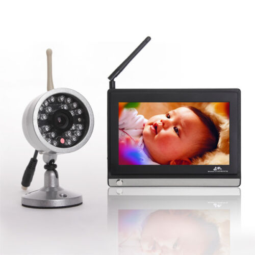 "2.4Ghz Wireless Audio Baby Video Monitor 7"" TFT LCD IR Night Version Camera in Baby, Baby Safety & Health, Baby Monitors 