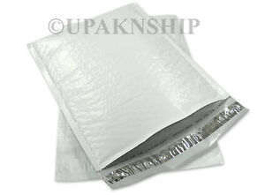 #2 100 POLY BUBBLE MAILERS PLASTIC ENVELOPE 8.5X12