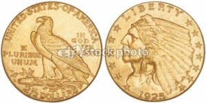 $2.50, Quarter Eagle, 1925, Indian Head